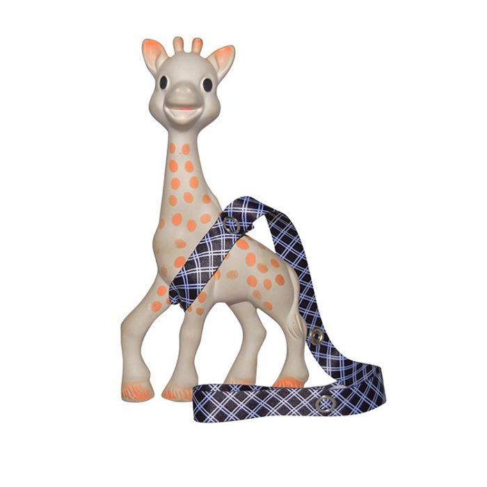 monochrome baby toy straps