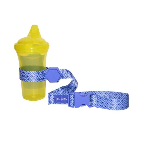blue sippy cup strap