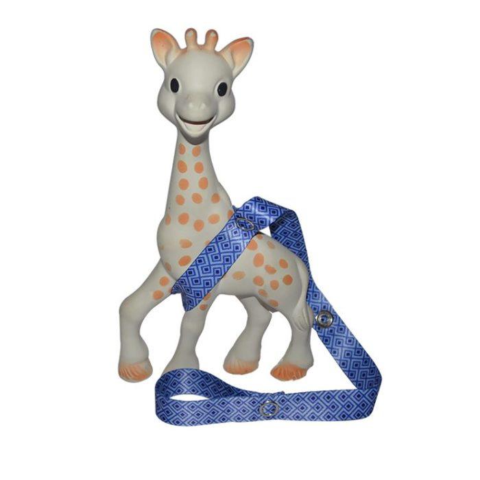 blue toy straps