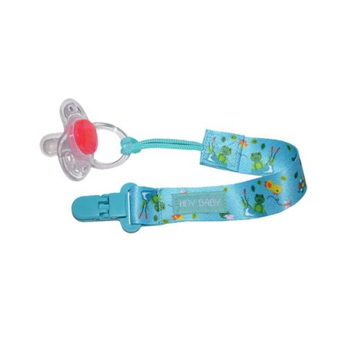 frog pacifier holder