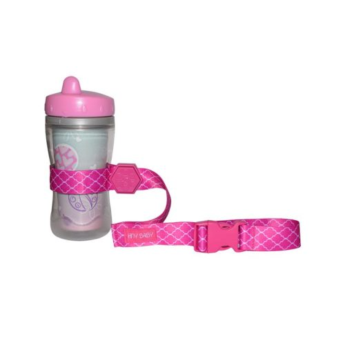 pink sippy cup strap