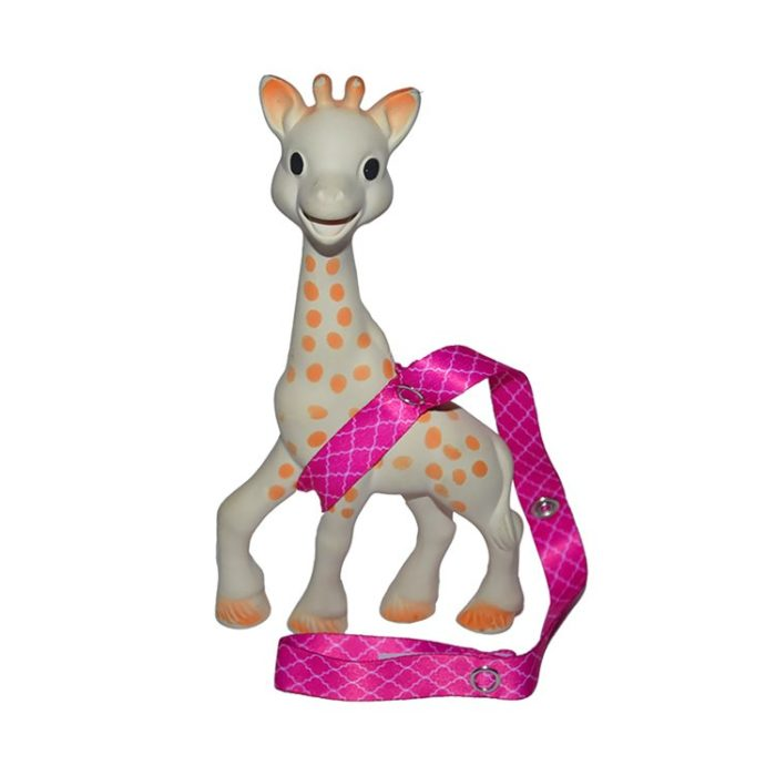 pink toy straps