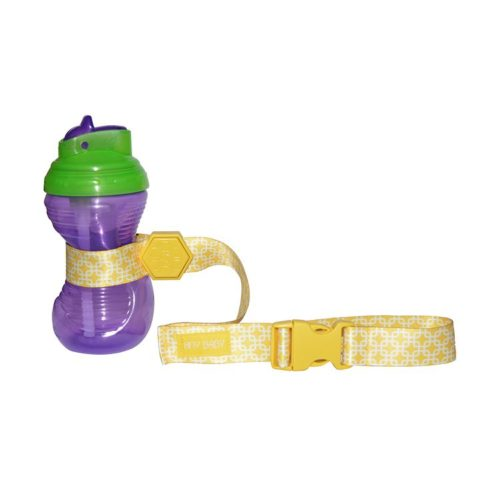 yellow sippy cup straps