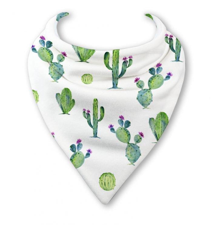 cactus bandana bib
