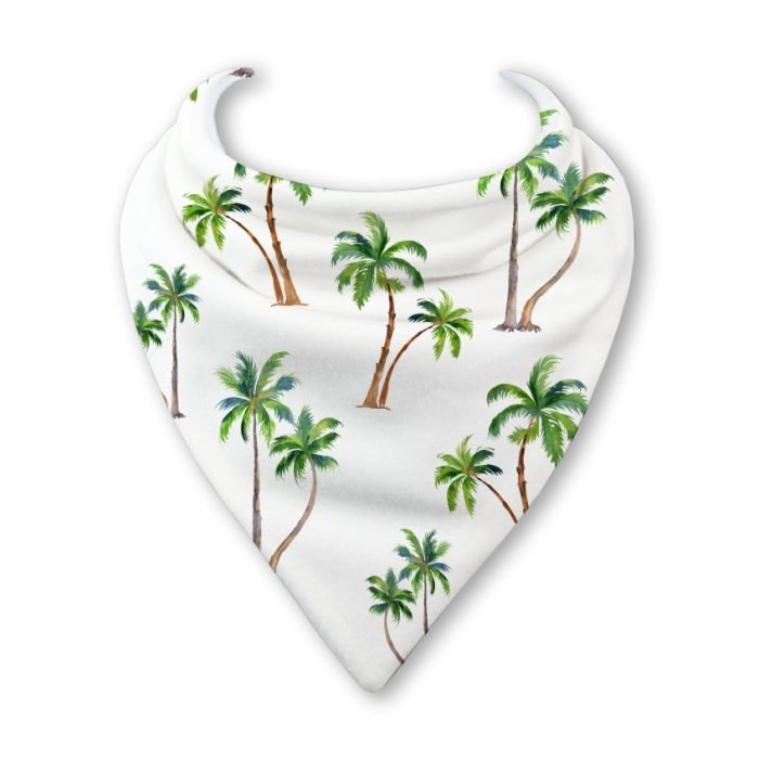 palm tree bib