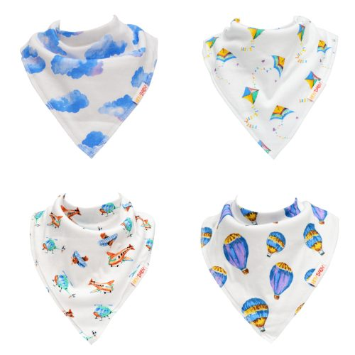 Boy Bandana Bib Set